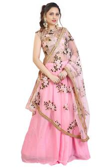 78d278f4c9 Georgette Lehengas - Latest Georgette Lehenga Choli Designs Online