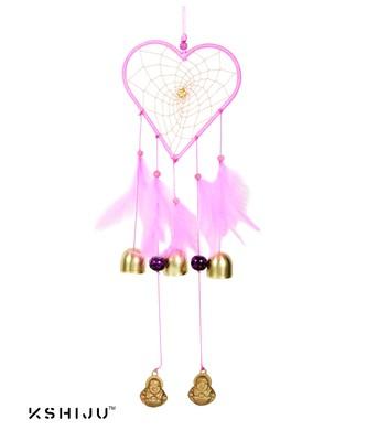 "Kshiju's heart shape dreamcatcher thistle 5*15"" inch wall hangings home decor nursery decor"