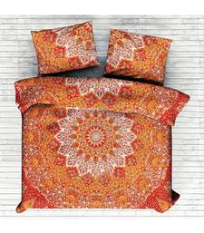 Indian Mandala Duvet Cover Bedding Set Double Size With 2 Matching Pillow Case RHDVT0022