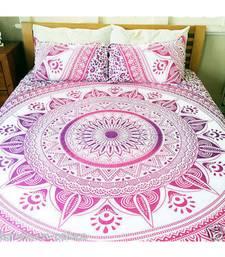 Indian Handmade Mandala Duvet Cover  Bedspread Doona Dover Quilt Cover RHDVT0031