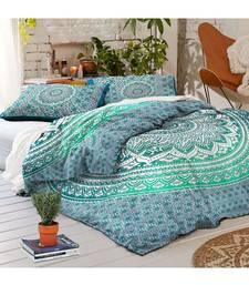 Indian Handmade Mandala Duvet Cover  Bedspread Doona Dover Quilt Cover RHDVT0039