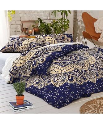 Indian Handmade Mandala Duvet Cover  Bedspread Doona Dover Quilt Cover RHDVT0044