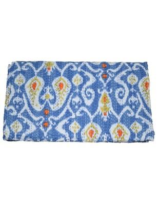 Kantha Quilt Queen Cotton Vintage Throw Blanket Multi Design Indian Handmade GDR0012