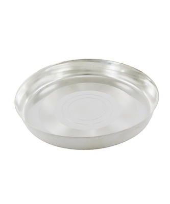 Decorative Silver Plated Thali/Plate For Serving Food To The Baby For Infant New Born Toddler After 3 Months