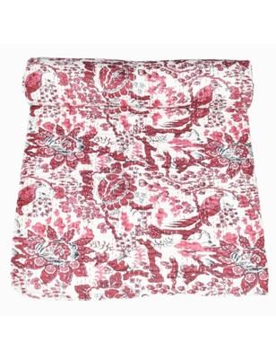 Kantha Quilt Queen Cotton Vintage Throw Blanket Multi Design Indian Handmade GDR0261