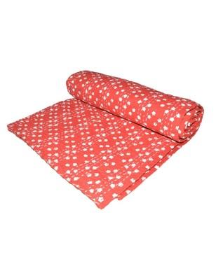 Kantha Quilt Queen Cotton Vintage Throw Blanket Multi Design Indian Handmade GDR0304