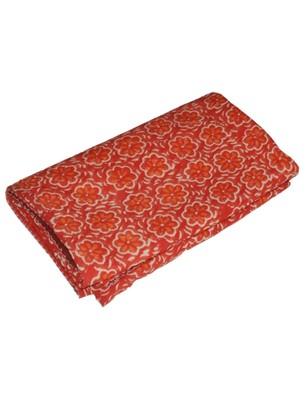 Kantha Quilt Queen Cotton Vintage Throw Blanket Multi Design Indian Handmade GDR0382