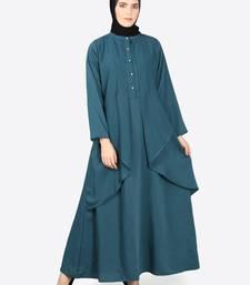 Nazneen Reverse Panel Front Open Abaya