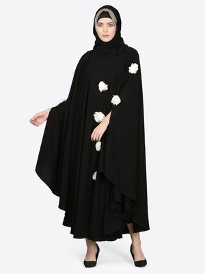 Nazneen White Flower Irani Kaftan