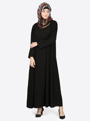 Nazneen Basic Plain Casual Abaya