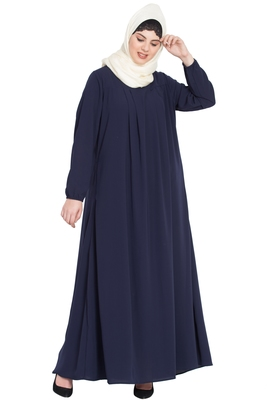 Nazneen Four Pleats At Bust Casual Abaya