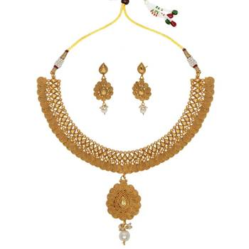 White cubic zirconia necklace sets