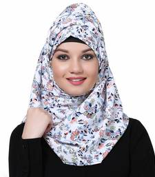 Polyester multicolor plain hijab