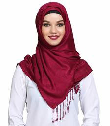 Viscose Red plain hijab