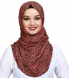 Viscose multicolor plain hijab