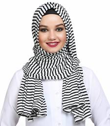 Viscose multicolor plain hijab
