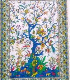 tree Of Life Color Tapestry Poster