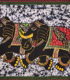 Two elephant Color Small Tapestry Poster