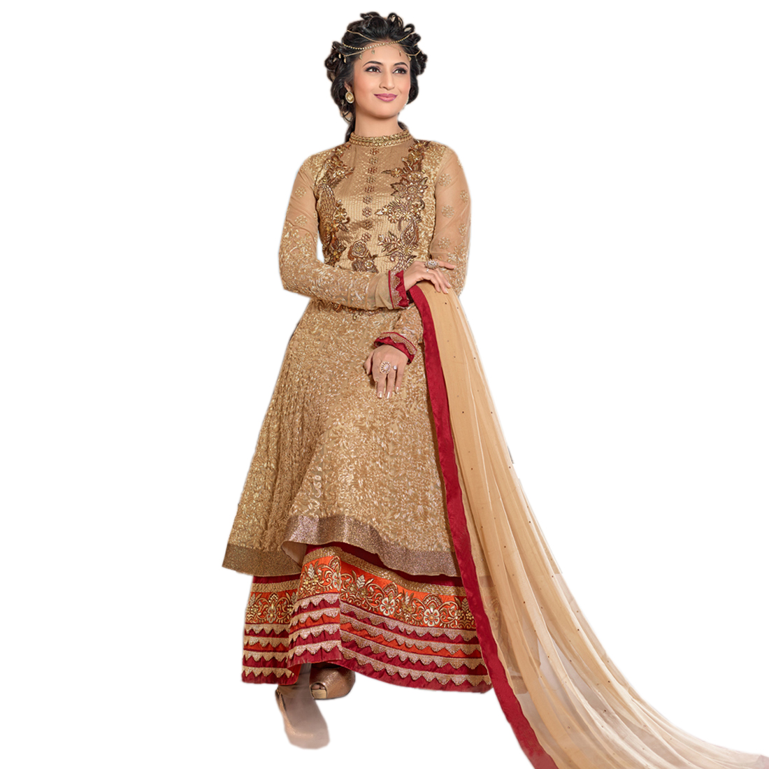 14a7e189a3 Buy Chiku embroidered semi-stitched salwar with dupatta Online