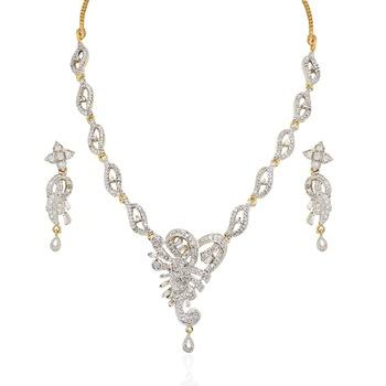 Heena Trendy Collection Necklace Set >> HJNL76 <<