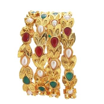 Multicolor bangle