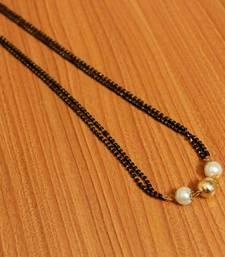 White Pearl Mangalsutra