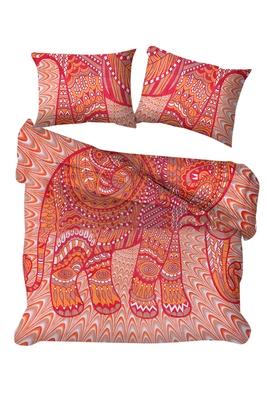 Elephant Duvet Cover With Pillowcases, Indian Donna Cover Set Boho Duvet Cover Bohemian Bedding set
