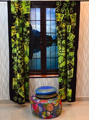 Mandala curtain window drapery decor wall curtains panel indian tapestries throw