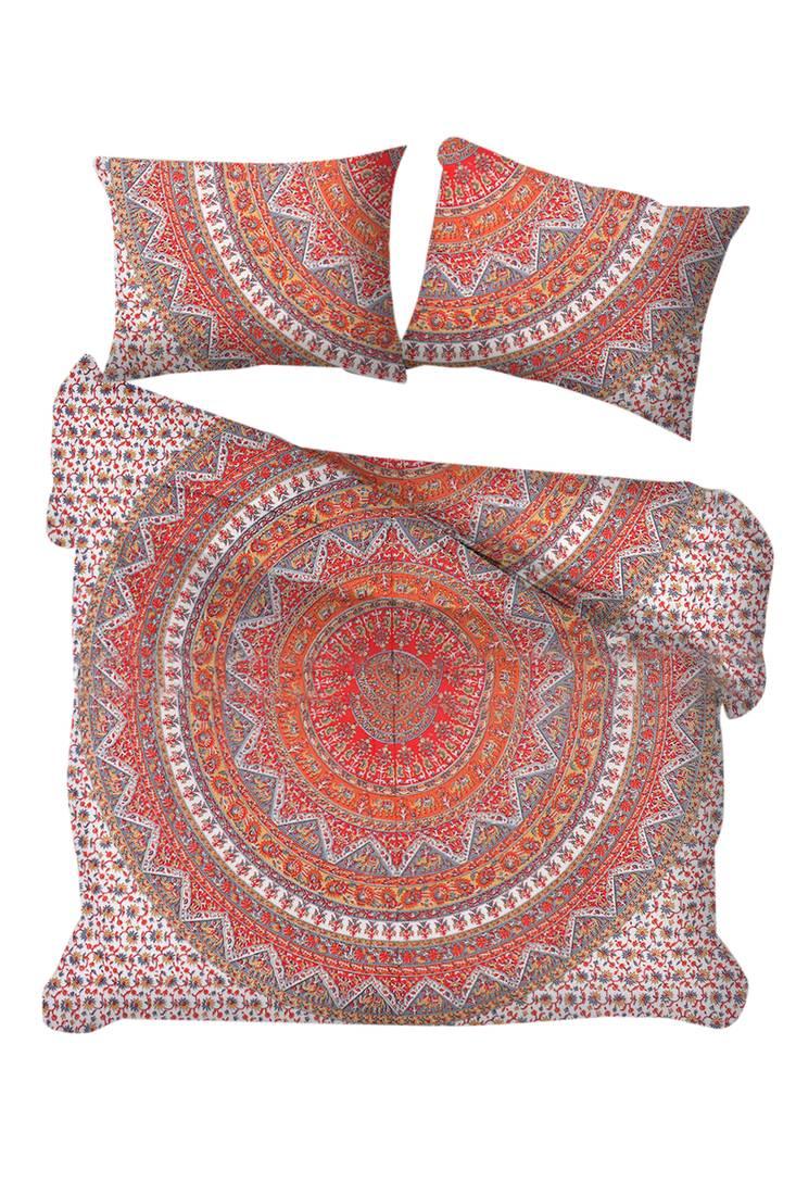 Indian Cotton Mandala Double Queen Size Bed Quilt Duvet Doona Cover Set Blanket Bedding Sets Duvet Covers Home Furniture Diy Cientificafest Cientifica Edu Pe