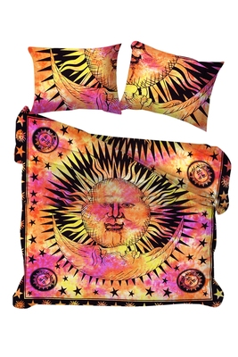 Mandala Duvet Doona Cover 100/% Cotton Quilt Cover Indian Handmade With Pillows