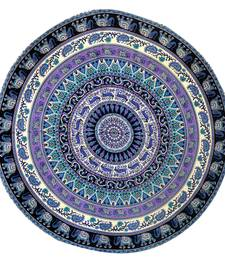 Mandala Roundie Beach Indian Elephant Tapestry Hippy Gypsy Cotton Table Covers Hippie Boho Yoga Mat Bohemian