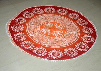 Roundie Beach Throw Mandala Tapestry Hippy Gypsy Cotton Sun and Elephant Table Covers Hippie Boho Yoga Mat Bohemian