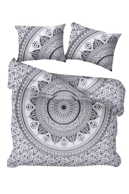 Indian Mandala Duvet Cover With Pillow Cases Donna Cover Quilt Cover Queen Size Blanket Ombre Full Duvet Cover Set