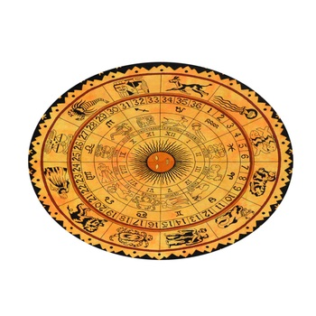 Mandala Roundie Beach Throw Horoscope Mandala Tapestry Hippy Gypsy Cotton Table Covers Hippie Boho Yoga Mat Bohemian