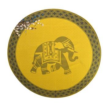 Indian Roundie Beach Elephant Mandala Tapestry Hippy Gypsy Cotton Table Covers Hippie Boho Yoga Mat Bohemian
