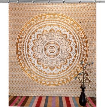 Mandala window hook curtains drape balcony room decor curtain boho set ethnic set hook tapestry