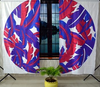 Indian mandala curtain hippie bohemian handmade include 2 panel set queen leaf wall tapestry, drapes & valances