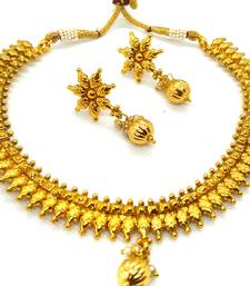 Gold south indian jewellery