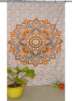 Mandala tapestry gypsy home decor panel set bohemian curtain room divider blackout balcony sheer curtain