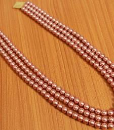 Copper Pearl Necklaces