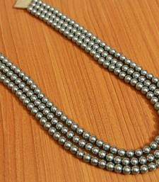 Silver Pearl Necklaces