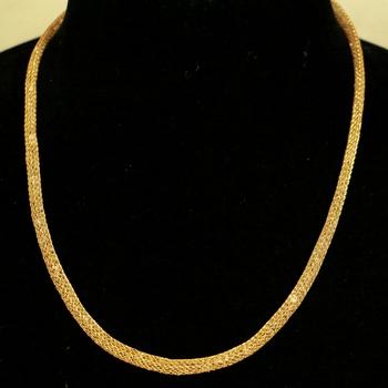 Yellow necklaces