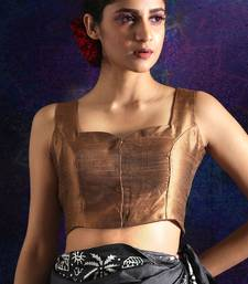 COPPER DUPION SLEEVELESS BLOUSE