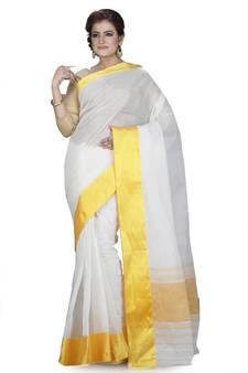 383f0d85c0de7 Progress 4cc28d84d76fcb9210fe43f7ac15eb975cd0845b972ae4a79b1d0ad72de0bd8e.  White plain cotton saree without blouse