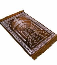 Islamic janamaz prayer mat rug golden gate