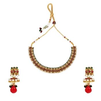 Multicolor cubic zirconia necklace sets