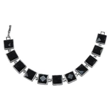 Black Crystal Bracelets