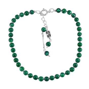 Green Malachite Anklets