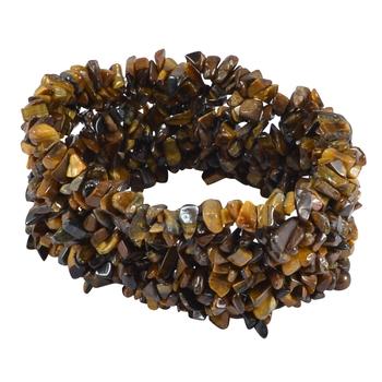 Brown Crystal Bracelets