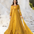 Designer Yellow Embroidered Long Anarkali Suit